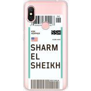 Силиконовый чехол BoxFace Xiaomi Redmi Note 6 Pro Ticket Sharmel Sheikh (35453-cc90)