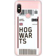 Силиконовый чехол BoxFace Xiaomi Redmi Note 6 Pro Ticket Hogwarts (35453-cc91)