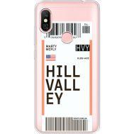 Силиконовый чехол BoxFace Xiaomi Redmi Note 6 Pro Ticket Hill Valley (35453-cc94)
