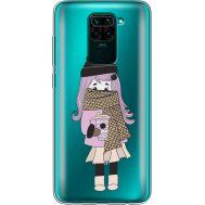 Силиконовый чехол BoxFace Xiaomi Redmi Note 9 Winter Morning Girl (39802-cc61)