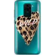 Силиконовый чехол BoxFace Xiaomi Redmi Note 9 Wild Love (39802-cc64)