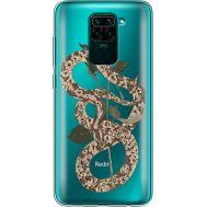 Силиконовый чехол BoxFace Xiaomi Redmi Note 9 Glamor Snake (39802-cc67)