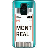 Силиконовый чехол BoxFace Xiaomi Redmi Note 9 Ticket Monreal (39802-cc87)