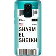 Силиконовый чехол BoxFace Xiaomi Redmi Note 9 Ticket Sharmel Sheikh (39802-cc90)