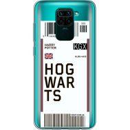 Силиконовый чехол BoxFace Xiaomi Redmi Note 9 Ticket Hogwarts (39802-cc91)
