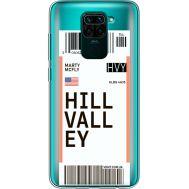 Силиконовый чехол BoxFace Xiaomi Redmi Note 9 Ticket Hill Valley (39802-cc94)