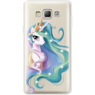 Силиконовый чехол BoxFace Samsung A700 Galaxy A7 Unicorn Queen (935961-rs3)