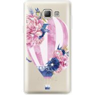 Силиконовый чехол BoxFace Samsung A700 Galaxy A7 Pink Air Baloon (935961-rs6)