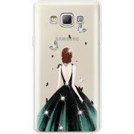 Силиконовый чехол BoxFace Samsung A700 Galaxy A7 Girl in the green dress (935961-rs13)