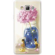 Силиконовый чехол BoxFace Samsung A700 Galaxy A7 Little Boy and Girl (935961-rs18)