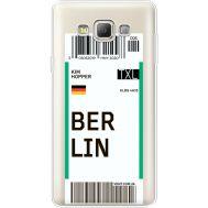Силиконовый чехол BoxFace Samsung A700 Galaxy A7 Ticket Berrlin (35961-cc80)