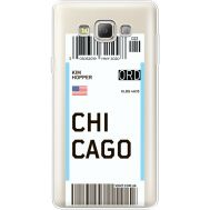 Силиконовый чехол BoxFace Samsung A700 Galaxy A7 Ticket Chicago (35961-cc82)
