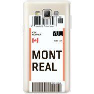 Силиконовый чехол BoxFace Samsung A700 Galaxy A7 Ticket Monreal (35961-cc87)