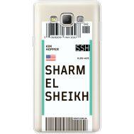Силиконовый чехол BoxFace Samsung A700 Galaxy A7 Ticket Sharmel Sheikh (35961-cc90)