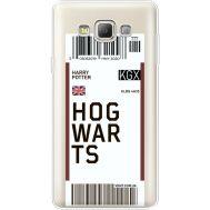 Силиконовый чехол BoxFace Samsung A700 Galaxy A7 Ticket Hogwarts (35961-cc91)