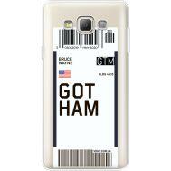 Силиконовый чехол BoxFace Samsung A700 Galaxy A7 Ticket Gotham (35961-cc92)