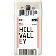 Силиконовый чехол BoxFace Samsung A700 Galaxy A7 Ticket Hill Valley (35961-cc94)