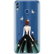 Силиконовый чехол BoxFace Huawei Honor 8x Max Girl in the green dress (935632-rs13)