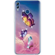 Силиконовый чехол BoxFace Huawei Honor 8x Max Butterflies (935632-rs19)