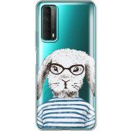 Силиконовый чехол BoxFace Huawei P Smart 2021 MR. Rabbit (41134-cc71)