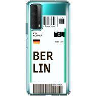 Силиконовый чехол BoxFace Huawei P Smart 2021 Ticket Berrlin (41134-cc80)