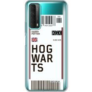 Силиконовый чехол BoxFace Huawei P Smart 2021 Ticket Hogwarts (41134-cc91)