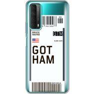 Силиконовый чехол BoxFace Huawei P Smart 2021 Ticket Gotham (41134-cc92)