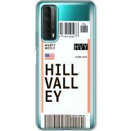 Силиконовый чехол BoxFace Huawei P Smart 2021 Ticket Hill Valley (41134-cc94)