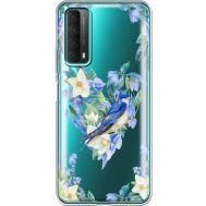 Силиконовый чехол BoxFace Huawei P Smart 2021 Spring Bird (41134-cc96)