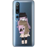 Силиконовый чехол BoxFace Xiaomi Mi 10 Pro Winter Morning Girl (39442-cc61)