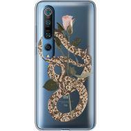 Силиконовый чехол BoxFace Xiaomi Mi 10 Pro Glamor Snake (39442-cc67)