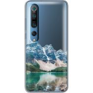 Силиконовый чехол BoxFace Xiaomi Mi 10 Pro Blue Mountain (39442-cc68)