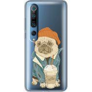 Силиконовый чехол BoxFace Xiaomi Mi 10 Pro Dog Coffeeman (39442-cc70)