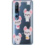 Силиконовый чехол BoxFace Xiaomi Mi 10 Pro с 3D-глазками Mouse (39442-cc76)
