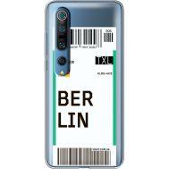 Силиконовый чехол BoxFace Xiaomi Mi 10 Pro Ticket Berrlin (39442-cc80)