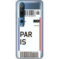 Силиконовый чехол BoxFace Xiaomi Mi 10 Pro Ticket Paris (39442-cc86)