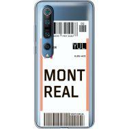 Силиконовый чехол BoxFace Xiaomi Mi 10 Pro Ticket Monreal (39442-cc87)