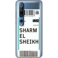 Силиконовый чехол BoxFace Xiaomi Mi 10 Pro Ticket Sharmel Sheikh (39442-cc90)