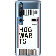 Силиконовый чехол BoxFace Xiaomi Mi 10 Pro Ticket Hogwarts (39442-cc91)