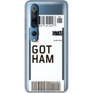 Силиконовый чехол BoxFace Xiaomi Mi 10 Pro Ticket Gotham (39442-cc92)