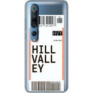 Силиконовый чехол BoxFace Xiaomi Mi 10 Pro Ticket Hill Valley (39442-cc94)