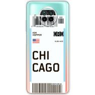 Силиконовый чехол BoxFace Xiaomi Mi 10T Lite Ticket Chicago (41070-cc82)