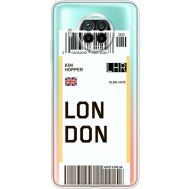 Силиконовый чехол BoxFace Xiaomi Mi 10T Lite Ticket London (41070-cc83)