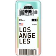 Силиконовый чехол BoxFace Xiaomi Mi 10T Lite Ticket Los Angeles (41070-cc85)