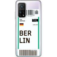 Силиконовый чехол BoxFace Xiaomi Mi 10T/ Mi 10T Pro Ticket Berrlin (41081-cc80)