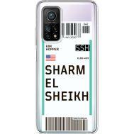 Силиконовый чехол BoxFace Xiaomi Mi 10T/ Mi 10T Pro Ticket Sharmel Sheikh (41081-cc90)