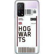 Силиконовый чехол BoxFace Xiaomi Mi 10T/ Mi 10T Pro Ticket Hogwarts (41081-cc91)