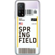 Силиконовый чехол BoxFace Xiaomi Mi 10T/ Mi 10T Pro Ticket Springfield (41081-cc93)