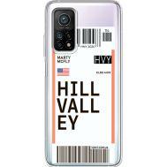 Силиконовый чехол BoxFace Xiaomi Mi 10T/ Mi 10T Pro Ticket Hill Valley (41081-cc94)