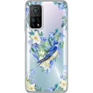 Силиконовый чехол BoxFace Xiaomi Mi 10T/ Mi 10T Pro Spring Bird (41081-cc96)